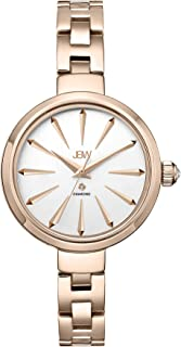 JBW Rose Gold Stainless White dial Classic for Women [J6326E]