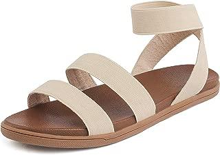 Women's Greek Platform Wedge Flat Sandals