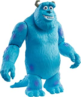 ​Pixar Sulley Figure True to Movie Scale Character Action Doll Highly Posable with Authentic Costumes for Storytelling, Co...
