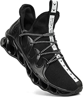 Dabbiqs Mens Trainers Running Shoes Mesh Ligthweight Gym Athletic Sport Fitness Sneakers