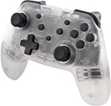 Nyko Wireless Core Controller - Bluetooth Pro Controller Alternative with Turbo and Android/PC Compatibility for Nintendo Switch - Clear
