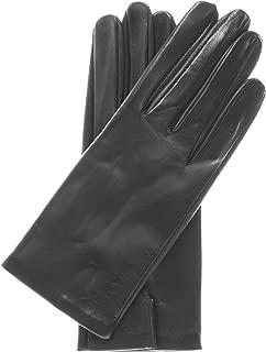 Fratelli Orsini Women's Touchscreen Italian Silk Lined Leather Gloves