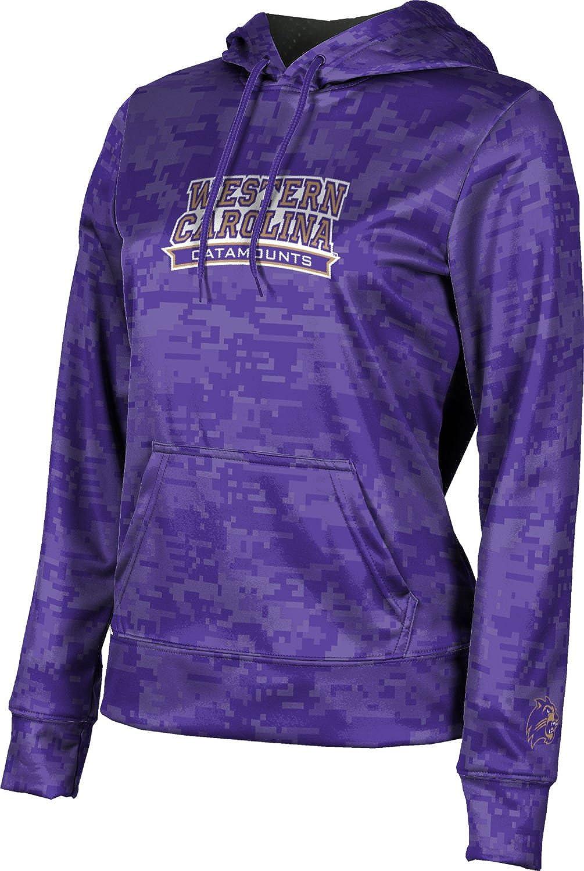Western Carolina University Girls' Pullover Hoodie, School Spirit Sweatshirt (Digi Camo)