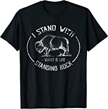 I Stand With Standing Rock - No DAPL Protest Buffalo T-Shirt