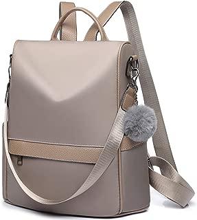 Women Backpack Purse Waterproof Nylon Anti Theft Rucksack Lightweight Travel School Shoulder Bag