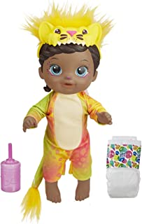 Baby Alive Rainbow Wildcats Doll, Lion, Accessories, Drinks, Wets, Lion Toy for Kids Ages 3 Years and Up, Black Hair (Amaz...