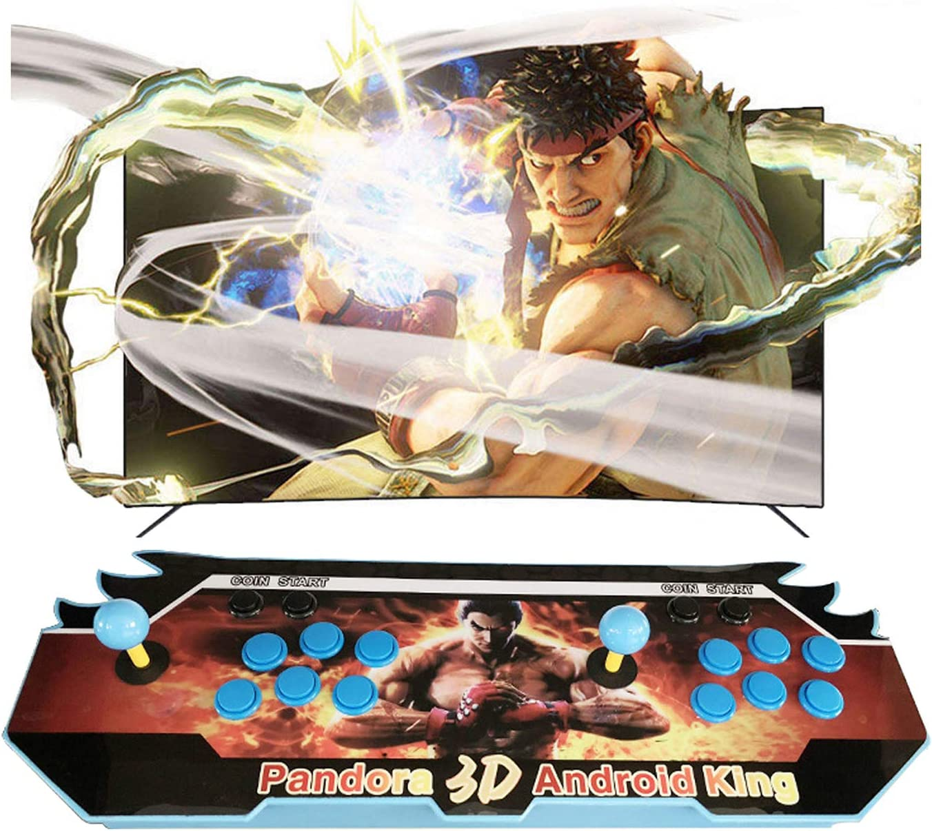 OFFicial TANCEQI 4500 Games in 1 Arcade Box Console 18S Popular brand Game Cl Pandora's