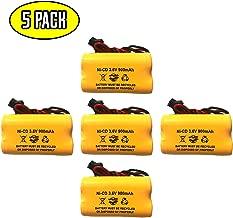 (5 Pack) ELBB001 ELB-B001 Lithonia Unitech AA900MAH 0253799 ANIC1566 3.6v 900mah Emergency/Exit Light NiCad Battery Replacement