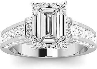 Best 1.7 carat emerald cut diamond ring Reviews