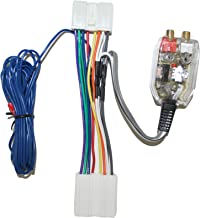 Factory Radio Add A Amp Amplifier Sub Interface Wire Harness Inline Converter Compatible with Dodge Eagle and Mitsubishi