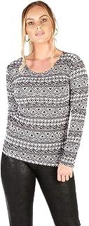 Momo&Ayat Fashions Ladies Snake Tartan Zebra Leopard Wetlook Printed Long Sleeve Tshirt Top AUS Size 8-26