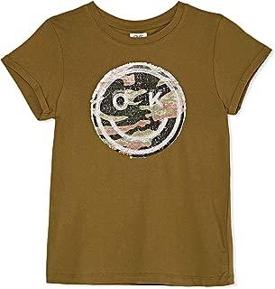 OVS Girl's 181-TSH029-222 T-Shirt, Green (Mayfly 2062), 12-13