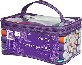 Diane Twist-Flex Rods DER001, Pack of 30