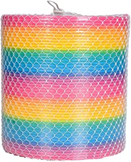 ArtCreativity Gigantic Coil Spring - Opens to 16 Feet - Jumbo Plastic Rainbow Coil Spring - Great Gift idea for Boys and Girls Ages 3+
