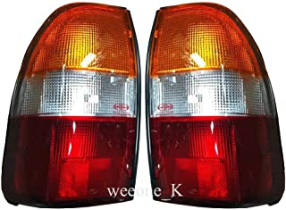 K1AutoParts 1 Pair Rear Taillights Tail Light Lamps For Mitsubishi L200 Animal Warrior Strada 1995-2005