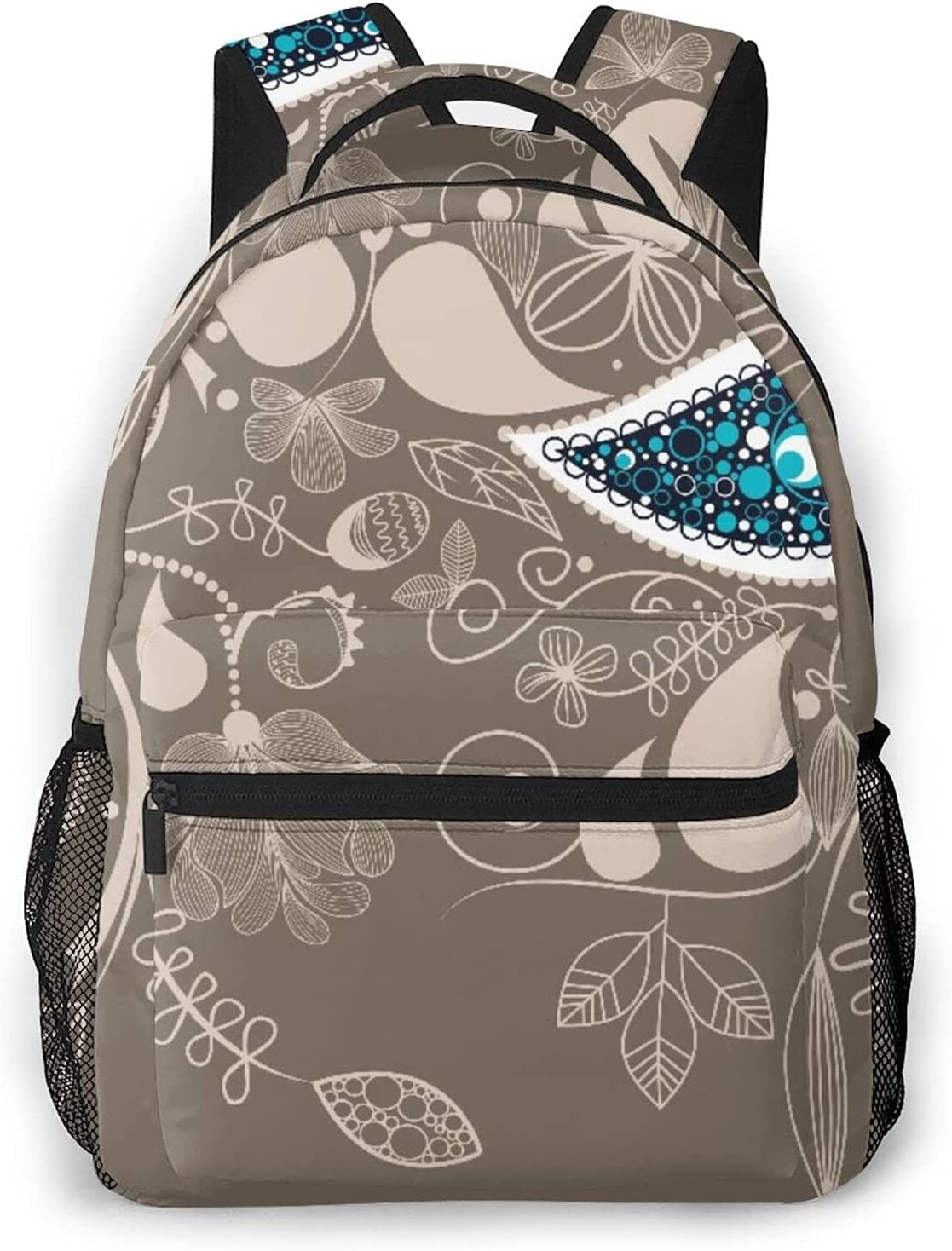 Casual Backpack Motifs With Inexpensive Swirled Flower And Boh Rare Branch Ethnic