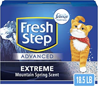 Fresh Step Advanced Extreme Clumping Cat Litter with Odor