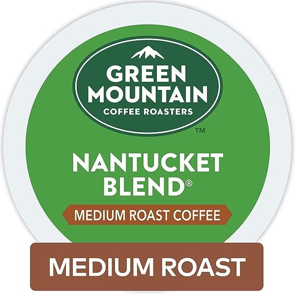 Green Mountain Coffee Roasters Nantucket Blend Keurig Single Serve K Cup Pods Medium Roast Coffee 72 Count