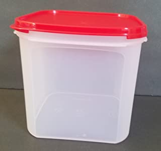 Tupperware Modular Mate Square 3 Container. Red Seal