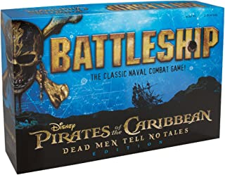 USAOPOLY Battleship: Pirates of The Caribbean Edition