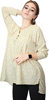 Kidwala Women's Tops, Tees & Blouses Pullover Plaid Blouses Tops for Women