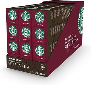 Starbucks® - Single-Origin Coffee Sumatra by Nespresso® Dark Roast - 12x 10 Capsules