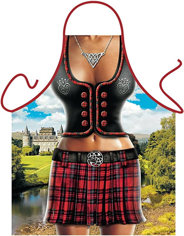 Scottish Woman Funny Apron