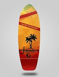 Glutier Surfskate Deck Jamaica 31¨Surf Skate Skate...