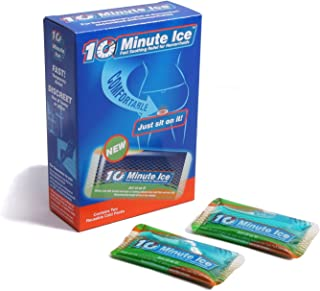 10 Minute Ice - Hemorrhoid Treatment for Fast Relief. Includes Two Shaped Ice Packs to Concentrate Relief (2 Pack)