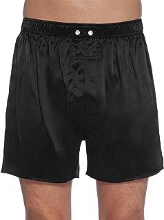 black satin boxers men