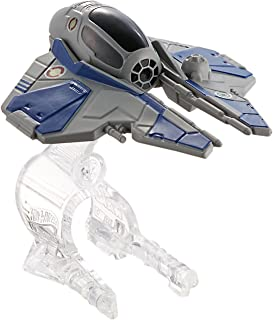 Hot Wheels Star Wars Obi-Wan Kenobi's Jedi Starfighter Starship Vehicle