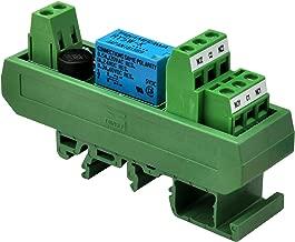 Electronics-Salon AC/DC 5V Slim DIN Rail Mount DPDT Signal Relay Interface Module, RY5W-K.