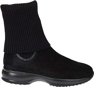 HOGAN Luxury Fashion Womens HXW00N09250BYEB999 Black Ankle Boots | Fall Winter 19