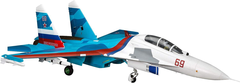 E-flite RC Airplane SU-30 発売モデル Twin Basic 70mm 輸入 EDF BNF Transmitter
