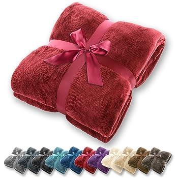 Fleece 130x170cm in verschiedenen Farben Tolle Flauschdecke Decke Flausch