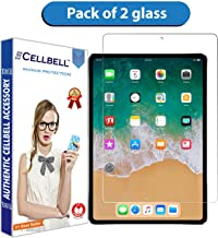 "CELLBELL® Pack of 2 Tempered Glass Screen Protector for iPad Pro(10.5"")(2017) [Transparent]"