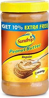 Sundrop Peanut Butter, Creamy, 462g with Free Peanut Butter, 46g