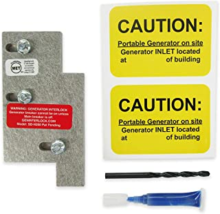 SD-H200A Square D Generator Interlock Kit Homeline Indoor or outdoor 150 or 200 amp panel