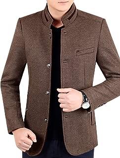 Best mens wool coat no collar Reviews