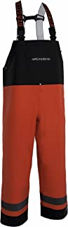 Grundens Balder 504 Bib Pant - Orange/Black - Medium