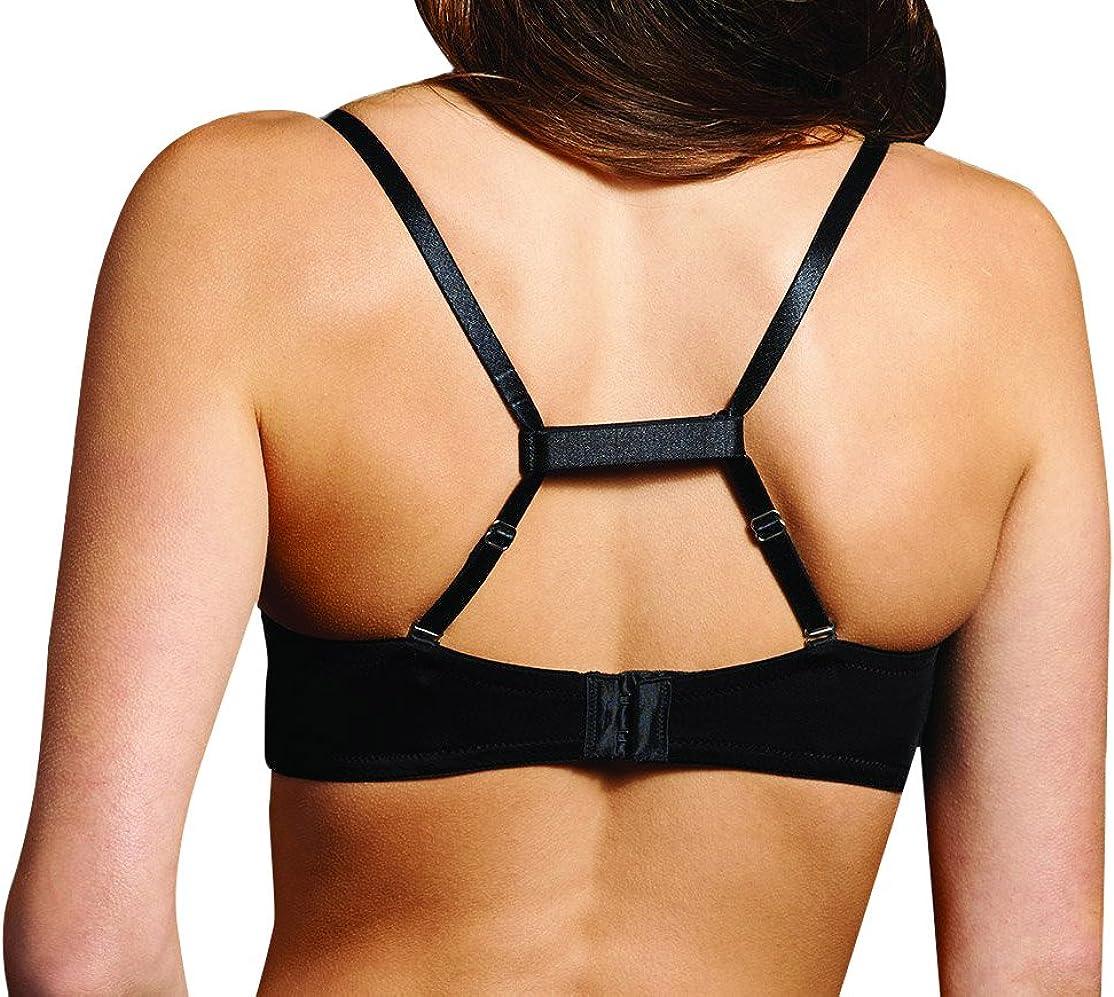 Womens Nude Sports Strap Two-Piece Underwear Set