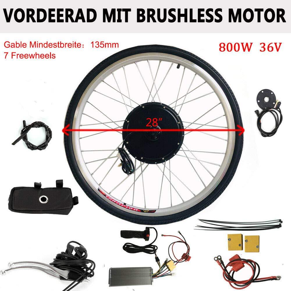 MOMOJA Kit de conversión para Bicicleta eléctrica Motor de ...
