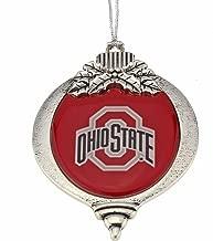 MadSportsStuff Ohio State Buckeyes Christmas Ornament