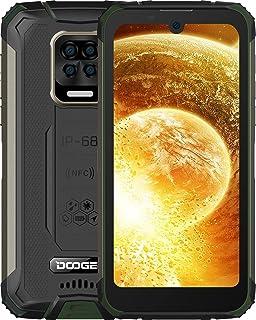 DOOGEE S59 (Offiziell) Outdoor Handy 10050mAh Smartphone Ohne Vertrag 2W Super Lautsprecher 16MP 4 Kamera 4 LED Blinkt 4GB RAM 64GB ROM Android 10 NFC IP68/IP69K [2021] (Grün)