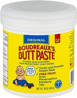 Boudreaux's Butt Paste Diaper Rash Ointment, Original, 16 Oz