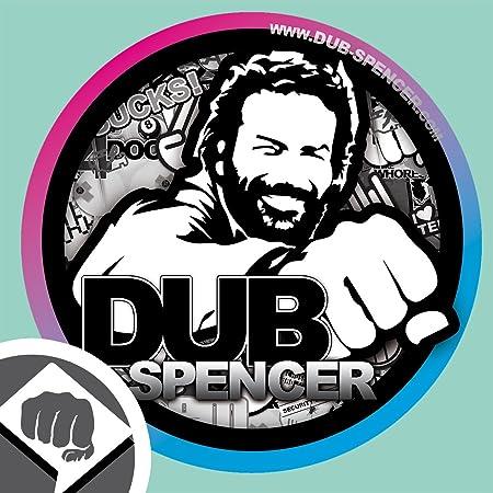 Dub Spencer Aufkleber In 2 Versionen Sticker Bomb Aufkleber Decal Patch 95 Mm Dub Dub Spencer Auto