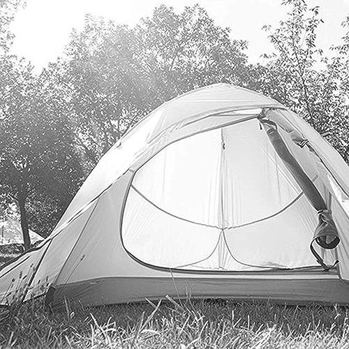 MJY Tente extérieure tente double tente 2-3 personnes tente de camping tente de randonnée tente de randonnée,Jaune,215  180  110cm