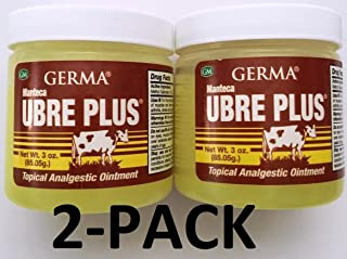 Germa Manteca Ubre Plus with Tea Tree Oil 3 oz. Jar 2-Pack