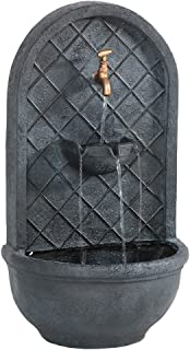 wall mounted fountains