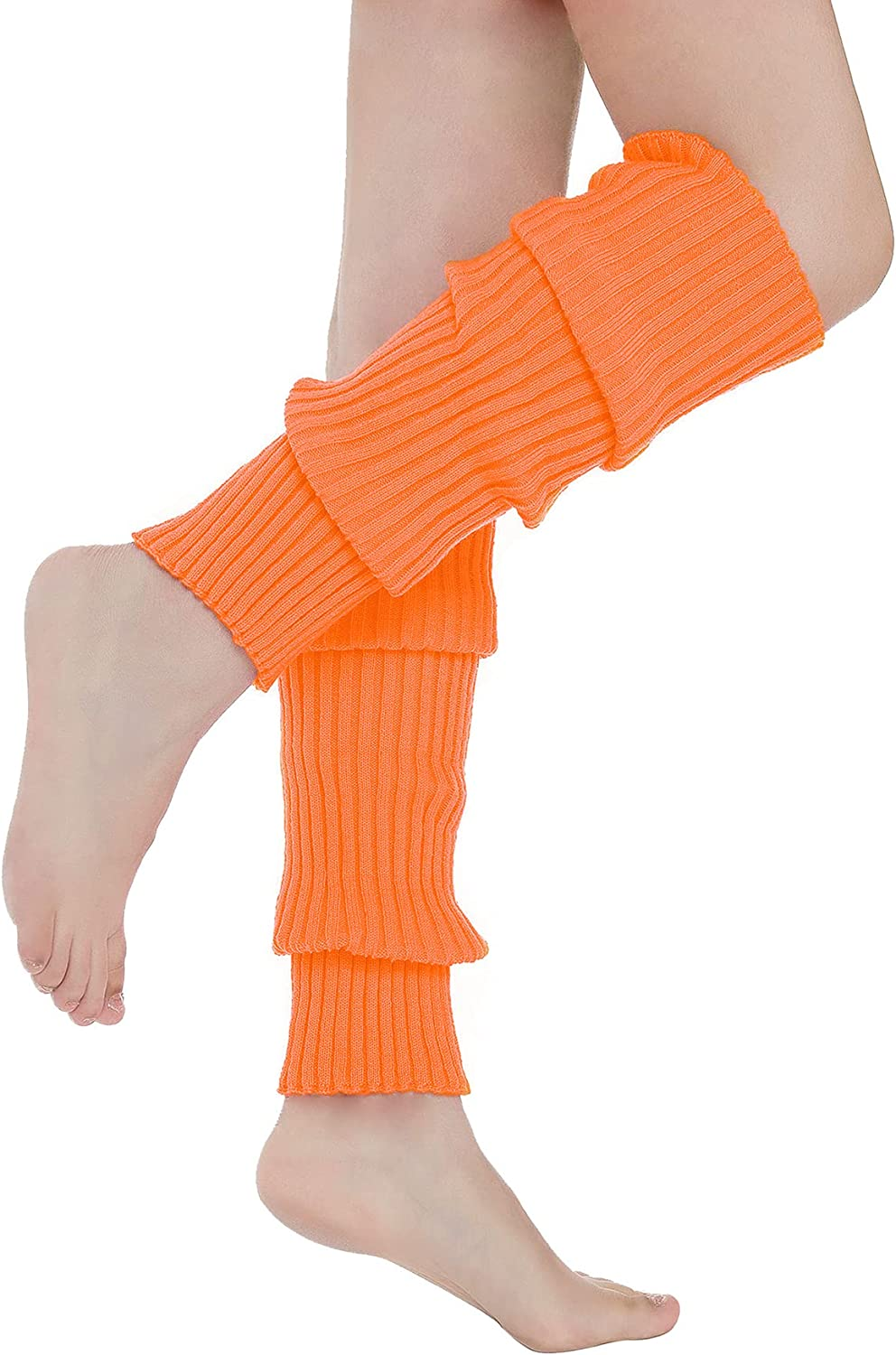 Leg Warmers for Women 80s Leg Warmers Ribbed Knit Leg Warmers 80s Accessories for Women Leg Warmer for Party Costumes